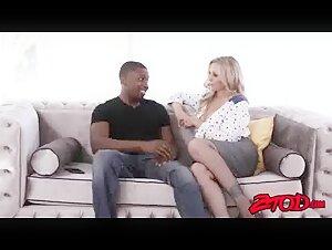 Splendid smoker Mommy converses while smoking