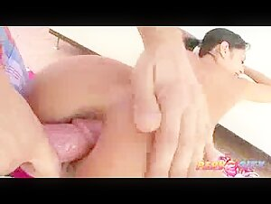 pregnant anal fucking in the forest