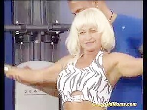 Crazy first-timer Mommy deep-throats and porks a youthful dude