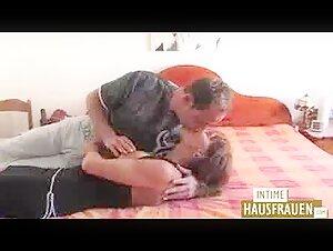 Blondie Mummy With Unshaved Labia Gets Rode By Ebony Weenie