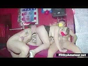 Mommy instructor makes a smallish nubile poke her dude