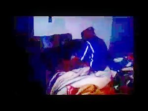 Ebony elder mummy female toying with her coochie