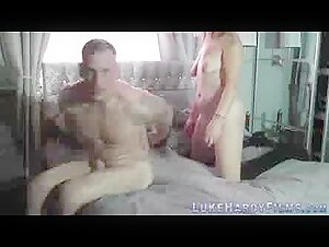 Killer huge-boobed chinese milf's super-fucking-hot fur covered snatch creampied